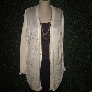 Liz Claiborne collection ivory/small pearls